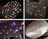 NEW 16W RGBW CREE Twinkle LED Fiber Optic Star Ceiling Lights Kit, Mixed ,300Strands, 3m(0.75mm200pcs+1.0mm70pcs+1.5mm30pcs)+Crystal