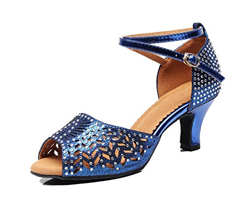 6cm Blue Moderno Heel Jazz MGM Donna e Joymod gwxYO6qA
