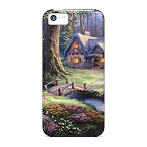 New Arrival Case Specially Design For Iphone 5c (snow White)