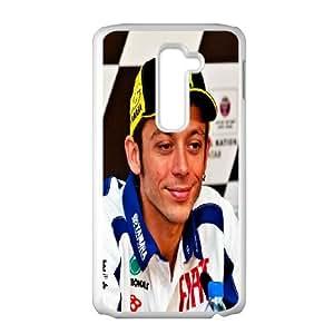DIY Phone Cover Custom Valentino Rossi For LG G2 NQ4042124