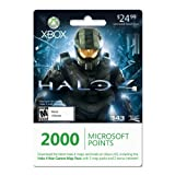 Xbox LIVE 2000 Microsoft Points for Halo 4 War Games Map Pass [Online Game Code], Office Central