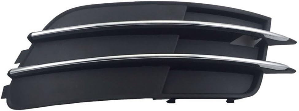 Paquet de 2 Garniture de calandre de feu antibrouillard Avant en ABS pour A6