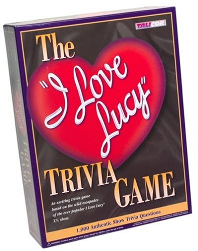 I Love Lucy Trivia Game