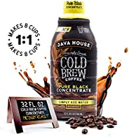 JAVA HOUSE Cold Brew Coffee Liquid Concentrate (1:1 Concentrate)