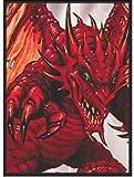 50 RED DEMON DRAGON MAX PROTECTION MAGIC CARD