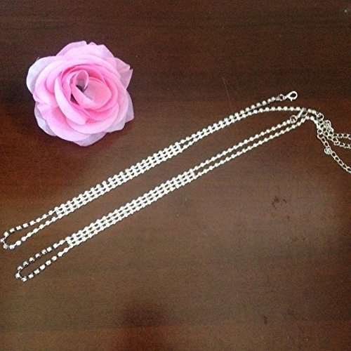Emorias 1/pcs Beaut/é Perle Femme Bracelet de cheville Bijoux en argent Pied Chaine de cheville pour femmes filles /él/égant Charmant Bijoux Fantaisie Accessoires