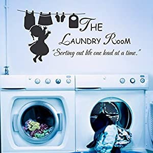 the laundry room sorting out life one load at a time vinyl