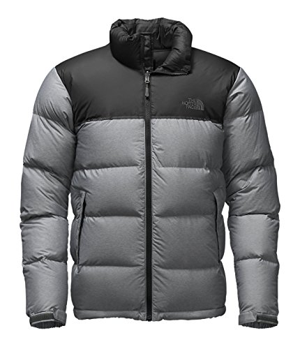 The North Face Nuptse Jacket - Mens color: TNF MEDIUM GREY H