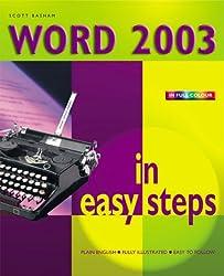 Word 2003 in Easy Steps (In Easy Steps Series)