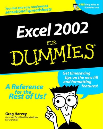 Excel 2002 For Dummies