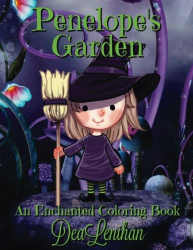 Penelope's Garden: A Bewitchingly Cute Coloring