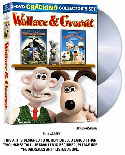 Wallace & Gromit 2 DVD Cracking Collector's Set (Three Amazing Adventures / The Curse of the Were-Rabbit) by Dreamworks Animated