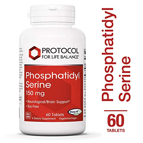 (	 Protocol For Life Balance - Phosphatidyl Serine 150 mg - Promotes Neurological & Cognitive Function with Cellular Structure Support - Soy Free Source - 60 Tablets )