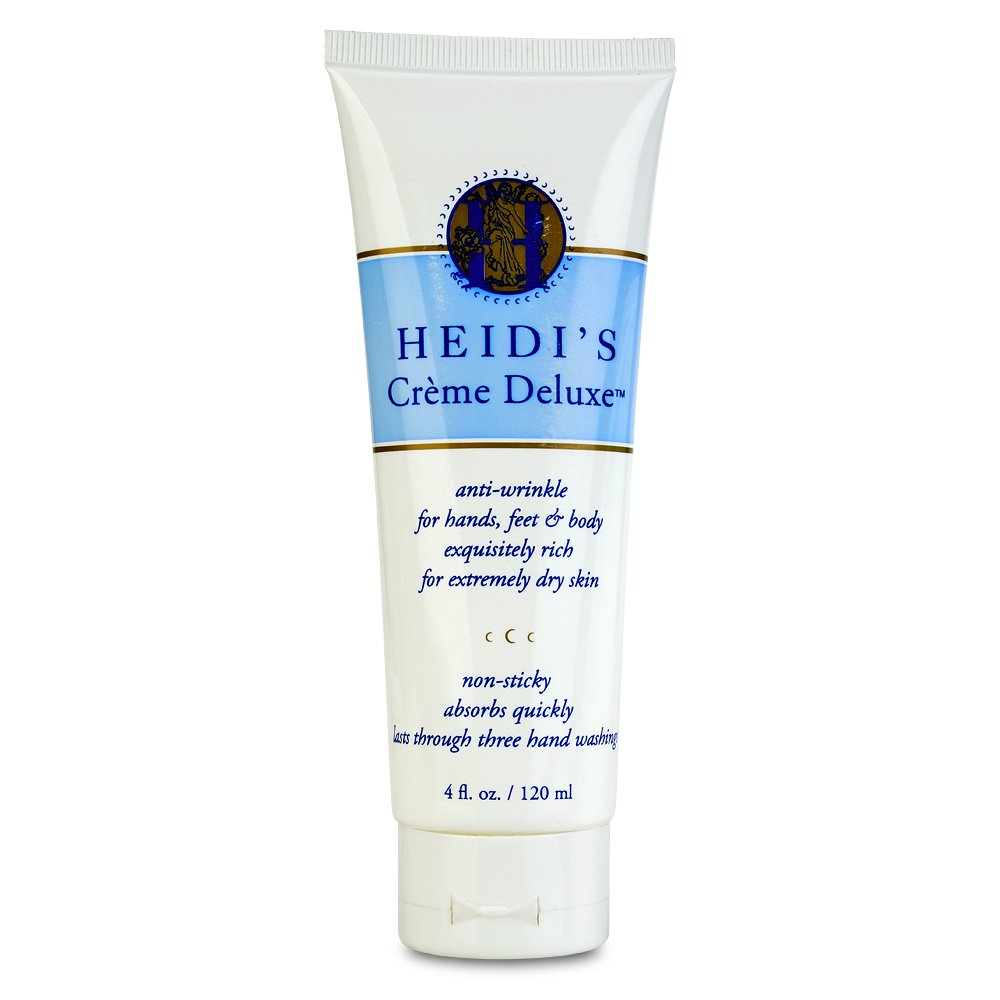 HEIDI'S Creme Deluxe Anti Wrinkle Hand Treatment Creme, 4 Ounce