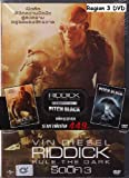 Riddick: Rule The Dark + Pitch Black (DVD SE Pack Set 2 Disc)