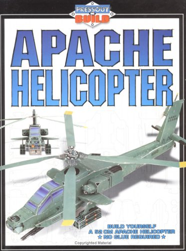 Apache Helicopter (Press-out and Build)
