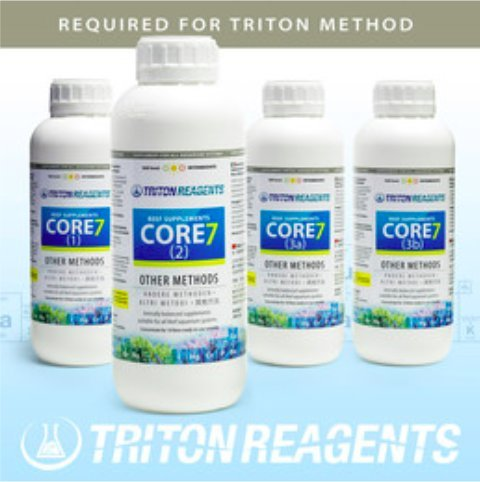 Triton CORE7 Reef Supplements Großgebinde 4x10l