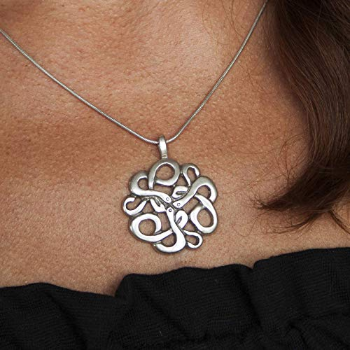 Silver Irish Trinity Pendant Necklace