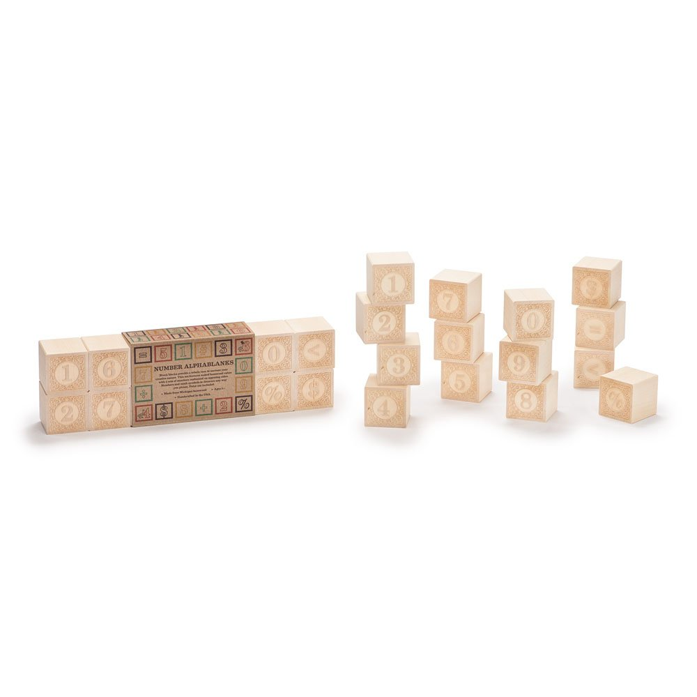Uncle Goose Alphablanks Numbers Blocks - Made in USA by Uncle Goose (Image #5)
