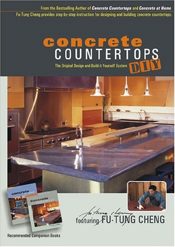 Concrete Countertops DIY Instructional DVD featuring FuTung Cheng