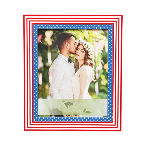 WoodArt Wooden Picture Frame (4x6, US Flag)