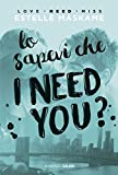 lo sapevi che i need you? dimily volume 2 italian edition