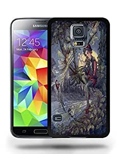 Vintage Peter Pan Sketch Art Drawing Phone Case Cover Designs for Samsung Galaxy S5