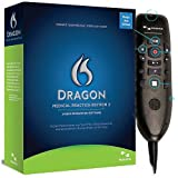 Software : Nuance 369039 Dragon Medical Practice Edition 2, with PowerMic III Speech Recognition Hand Microphone with Cradle and 9 Foot Cord No Maintenance - 1 License Retail Box