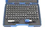TEMO 100 pc Impact Ready Security Bits Screwdriver Set Kit with two Quick Chucks