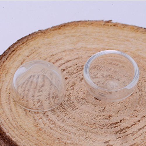 15mm Mini Clear Glass Dome Cover for Ring (15 Mm Dome Ring)