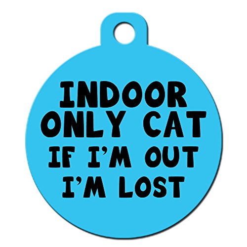 Cute Cat Pet ID Tag -