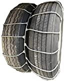 TireChain.com 4317 12R22.5, 12 22.5 Dual Cable Tire Chains with Cam