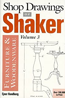 Measured Drawings Of Shaker Furniture And Woodenware Ejner