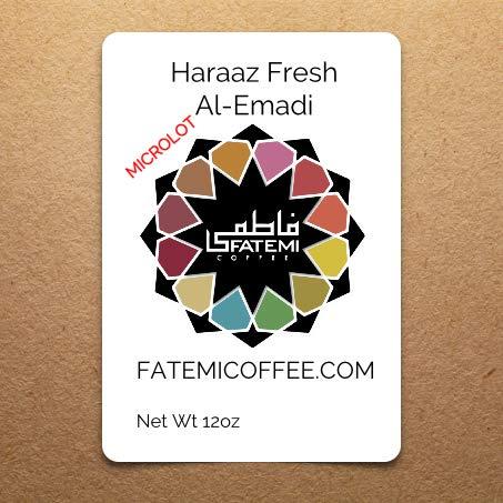 Yemen Mocha Haraaz Fresh Microlot Al Emadi Roasted Whole Bean Coffee
