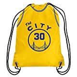 Golden State Warriors ''The City' Official NBA Drawstring Backpack Gym Bag - Stephen Curry