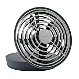 O2COOL 5-Inch Portable USB Fan, Grey