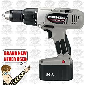 PORTER-CABLE 9977 14.4-Volt Ni-Cad 1/2-Inch Cordless Hammer Drill/Driver Kit