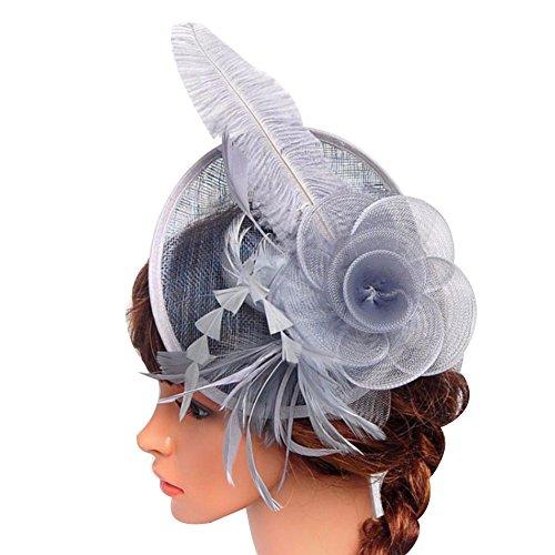 Floral Ladies Hat Charm - 7