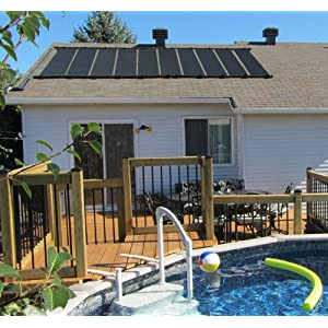 511KCxug0CL. SS300  - 2-2'X10' SunQuest Solar SwimmingPool Heater with Roof/Rack Mounting Kit
