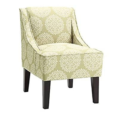 Amazon Com Dorel Living Chevron Accent Chair Kitchen
