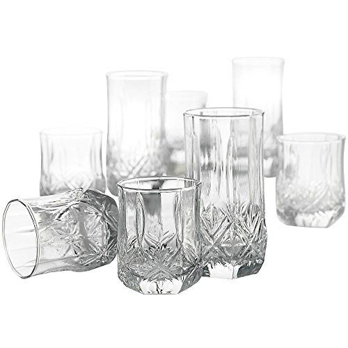 - Luminarc Brighton 16 Piece Set