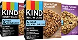 KIND Healthy Grains Kind Healthy Grains Granola Bars, Double Dark Chocolate, Cinnamon Oat and Maple Pumpkin (3Pack -15 Bars each) For Sale