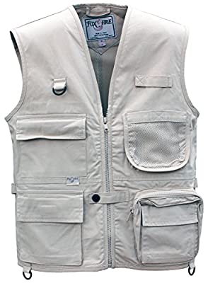 Foxfire for Kids Junior Adventure Vest Cotton Stone