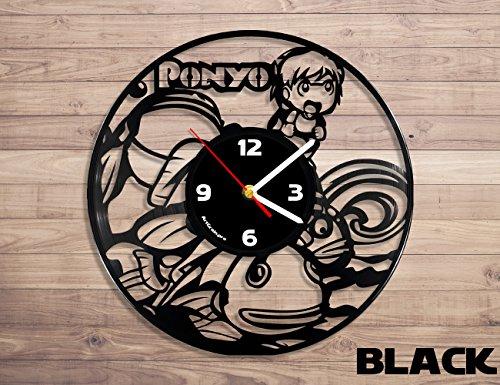 Studio ghibli, Ponyo anime, Ponyo clock, Ponyo anime art vin