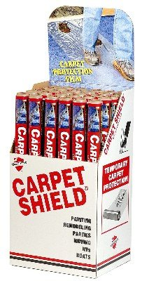 Surface Shields CS24200L 24'' X 200' Clear Carpet Shield by Surface Shields