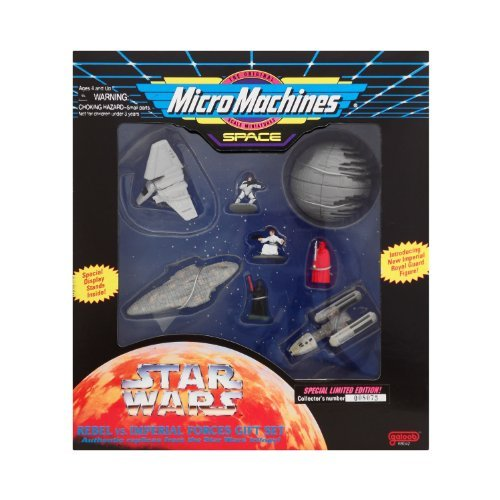 (Micro Machines Star Wars Rebel vs Imperial Forces Gift Set)