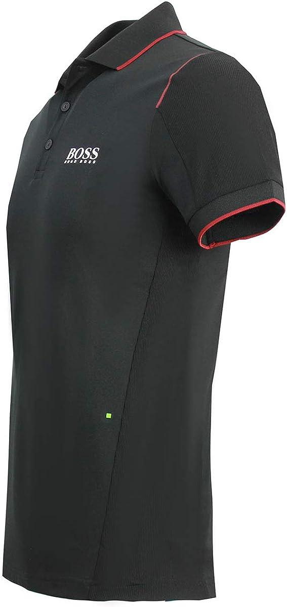 Hugo Boss Mens Slim fit Polo Paule Pro 1 50392758 Black