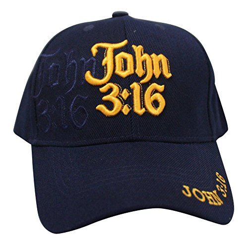 Muse Looks John 3:16 Christian Velcroback Cap