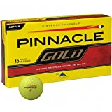 Pinnacle Gold Golf Ball 15pk Yellow