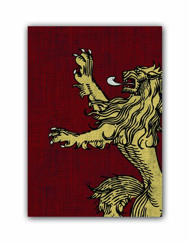 Fantasy Flight Games-A Game of Thrones Art Sleeves: House Lannister Color (HBO03)